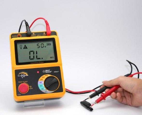 测量电机绝缘电阻时如何正确使用兆欧表