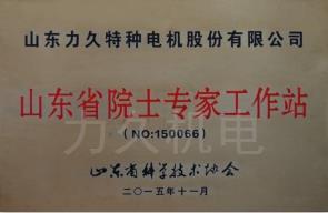 山东省院士专家工作站